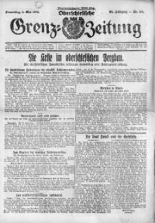 Oberschlesische Grenz-Zeitung, 1924, Jg. 52, Nr. 106