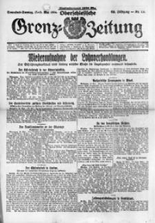 Oberschlesische Grenz-Zeitung, 1924, Jg. 52, Nr. 114