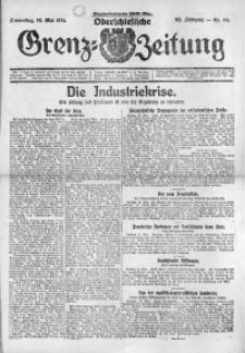 Oberschlesische Grenz-Zeitung, 1924, Jg. 52, Nr. 118