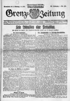 Oberschlesische Grenz-Zeitung, 1924, Jg. 52, Nr. 125