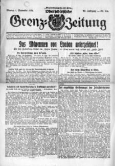 Oberschlesische Grenz-Zeitung, 1924, Jg. 52, Nr. 201