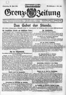 Oberschlesische Grenz-Zeitung, 1924, Jg. 52, Nr. 145
