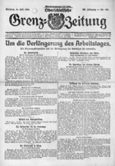 Oberschlesische Grenz-Zeitung, 1924, Jg. 52, Nr. 162