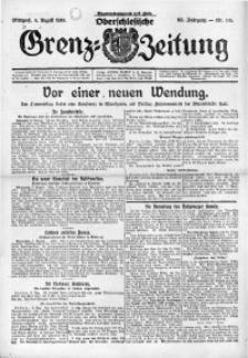 Oberschlesische Grenz-Zeitung, 1924, Jg. 52, Nr. 180