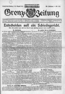 Oberschlesische Grenz-Zeitung, 1924, Jg. 52, Nr. 183