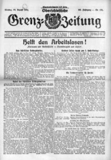 Oberschlesische Grenz-Zeitung, 1924, Jg. 52, Nr. 195