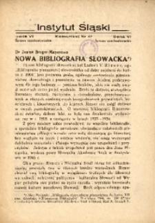 Nowa bibliografia słowacka