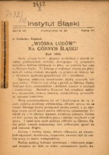 """""""Wiosna Ludów"""" na Górnym Śląsku. Rok 1848"""