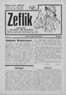 Zefllik, [1924], R. 1, nr 3