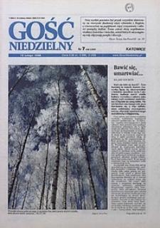 Gość Niedzielny, 1998, R. 71, nr 7
