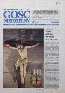 Gość Niedzielny, 1998, R. 75, nr 8