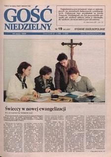 Gość Niedzielny, 1998, R. 71, nr 19