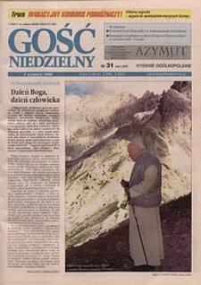 Gość Niedzielny, 1998, R. 71, nr 31