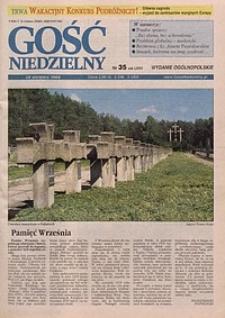 Gość Niedzielny, 1998, R. 71, nr 35