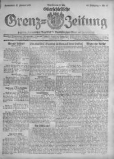 Oberschlesische Grenz-Zeitung, 1920, Jg. 48, Nr. 13