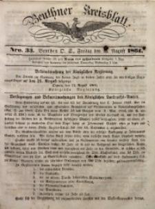 Beuthner Kreisblatt, 1861, Nro. 33
