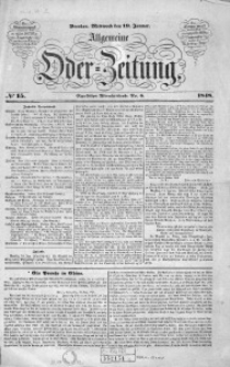 Allgemeine Oder-Zeitung, 1848, No 15