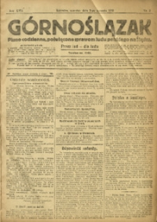Górnoślązak, 1918, R. 17, Nr. 2