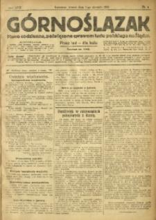 Górnoślązak, 1918, R. 17, Nr. 6