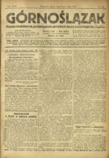 Górnoślązak, 1918, R. 17, Nr. 32