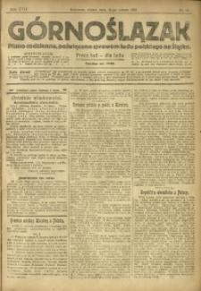 Górnoślązak, 1918, R. 17, Nr. 38