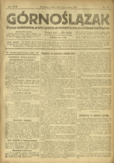 Górnoślązak, 1918, R. 17, Nr. 51
