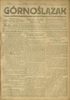 Górnoślązak, 1918, R. 17, Nr. 72