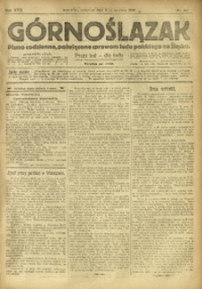 Górnoślązak, 1918, R. 17, Nr. 128