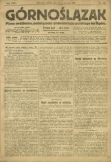 Górnoślązak, 1918, R. 17, Nr. 183
