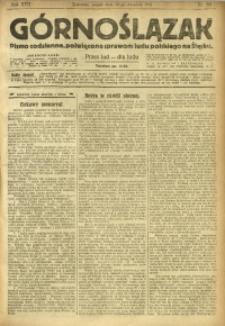 Górnoślązak, 1918, R. 17, Nr. 218