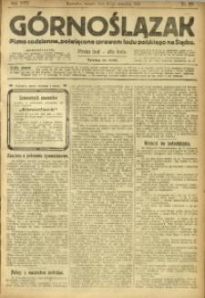 Górnoślązak, 1918, R. 17, Nr. 221