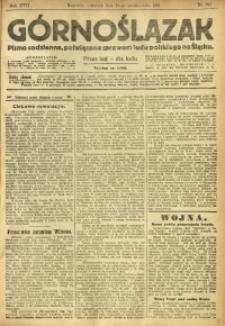Górnoślązak, 1918, R. 17, Nr. 247