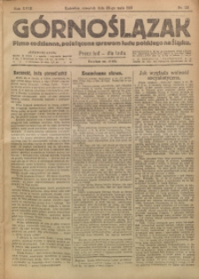 Górnoślązak, 1919, R. 18, Nr. 115