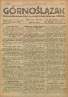 Górnoślązak, 1919, R. 18, Nr. 173