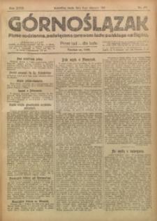 Górnoślązak, 1919, R. 18, Nr. 176