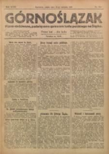 Górnoślązak, 1919, R. 18, Nr. 184