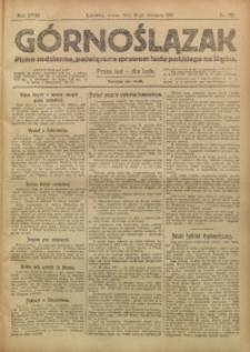 Górnoślązak, 1919, R. 18, Nr. 222
