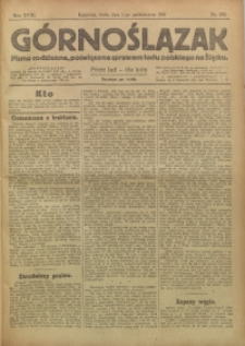 Górnoślązak, 1919, R. 18, Nr. 223