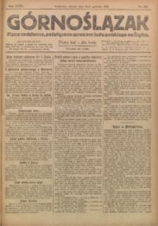 Górnoślązak, 1919, R. 18, Nr. 280