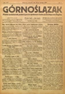 Górnoślązak, 1920, R. 14, Nr. 17