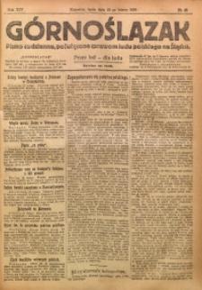 Górnoślązak, 1920, R. 14, Nr. 45