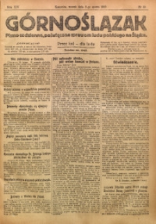 Górnoślązak, 1920, R. 14, Nr. 50