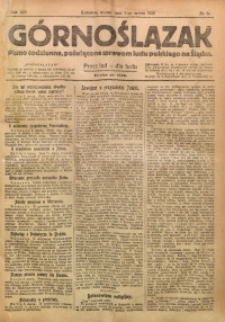 Górnoślązak, 1920, R. 14, Nr. 56