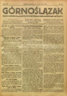 Górnoślązak, 1920, R. 14, Nr. 58