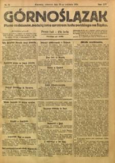 Górnoślązak, 1920, R. 14, Nr. 91