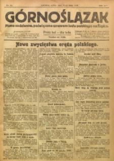 Górnoślązak, 1920, R. 14, Nr. 111