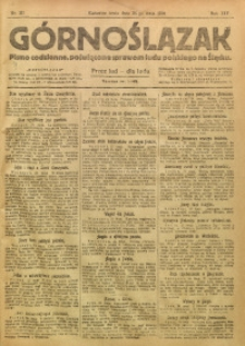 Górnoślązak, 1920, R. 14, Nr. 117