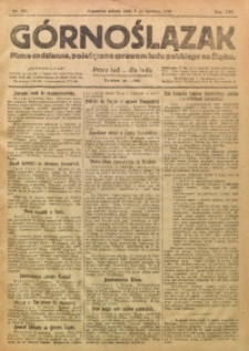 Górnoślązak, 1920, R. 14, Nr. 125