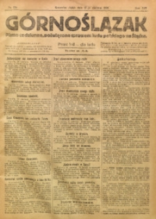 Górnoślązak, 1920, R. 14, Nr. 136