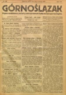 Górnoślązak, 1920, R. 14, Nr. 143